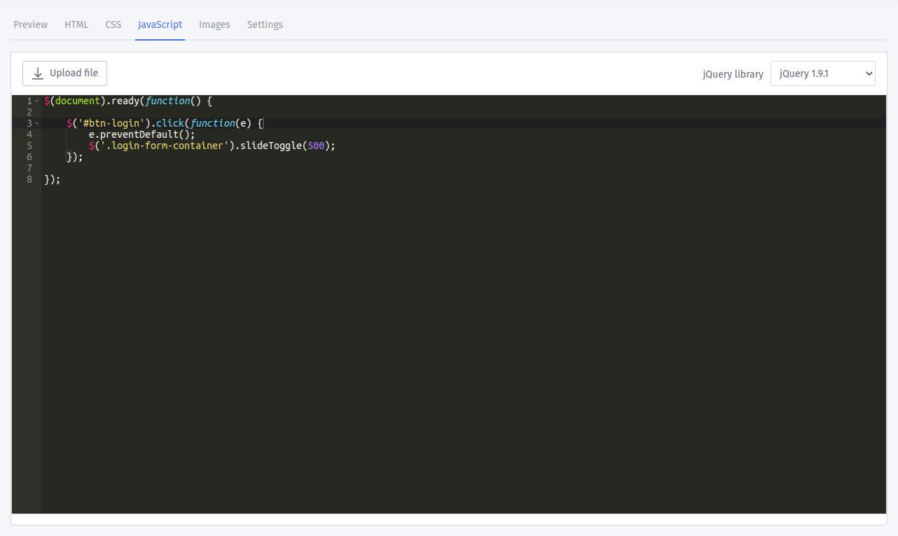Custom Html Splash Page Templates Quick Start Guide
